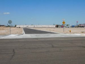 Fortuna Palms Commercial Subdivision DPE Construction Yuma