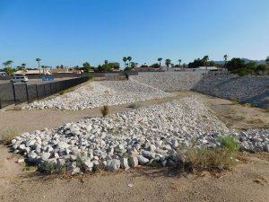 North Frontage Road Improvements DPE Construction Yuma