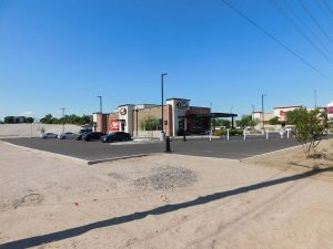 Raising Cane Restaurant DPE Construction Yuma